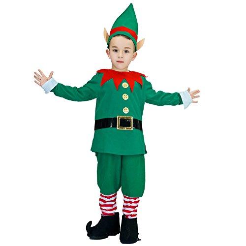Children Christmas Elf Costume (L)