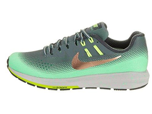 Nike Womens Air Zoom Structure 20 Scudo Scarpe Da Corsa Hasta / Mtlc Rosso Bronzo