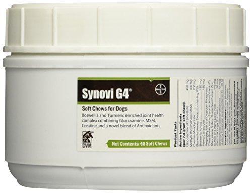 DVM 9313 Synovi G4 Soft Chew, 60 Count by Synovi