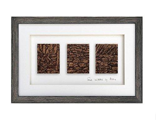 Biddy Murphy The Walls of Aran Irish Wall Art Heartwood Framed Made in Ireland