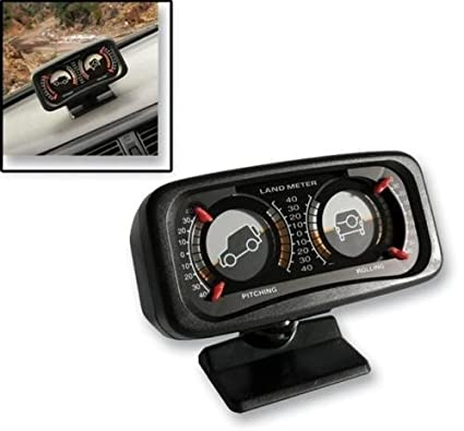 AutoTrends Jeep 4X4 Off Road Inclinometer/Clinometer