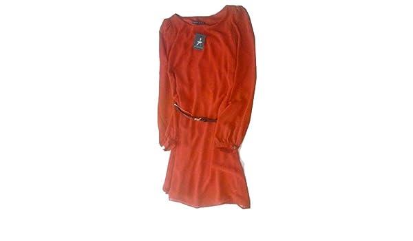 PRIMARK by atmósfera Rojo Vestido de manga larga UK14 EUR42: Amazon.es: Ropa y accesorios