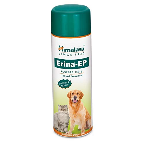 Pupkart Himalaya Erina EP Powder for Dogs and Cats, Controls Skin Infections (150 g)