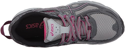 ASICS Women's Gel-Venture 6 Running-Shoes,Carbon/Black/Pink Peacock,9 Medium US by ASICS (Image #8)