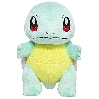 Sanei Pokemon All Star Series PP19 Squirtle Stuffed Plush, 6