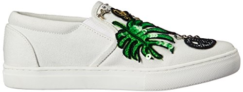 Marc Jacobs Womens Mercer Slip On Fashion Sneaker White/Multi CpTIYRe