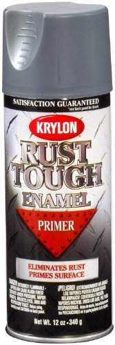 Krylon RTA9205 'Rust Tough' Gray Primer - 12 oz. Aerosol by Krylon