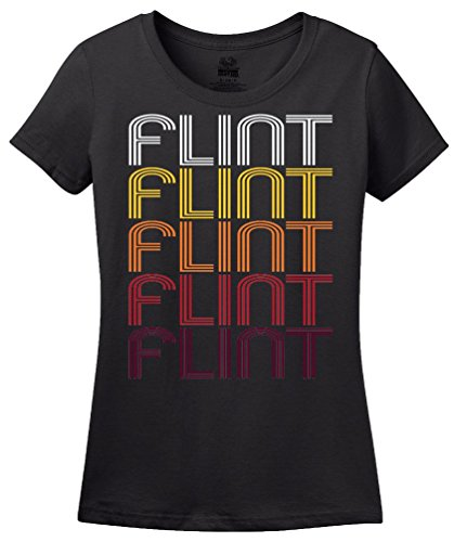 Flint, MI | Retro, Vintage Style Michigan Pride T-shirt