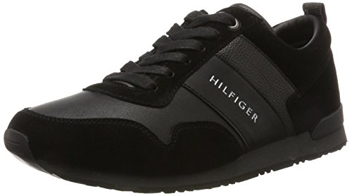 Hombre 11c1 Zapatillas Negro Tommy Black M2285axwell Hilfiger para xqCETTSXnw