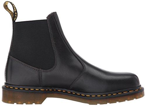 Mens Dr Da Boots Hardy Leather Fucile Martens Nero Canna ggH5qT