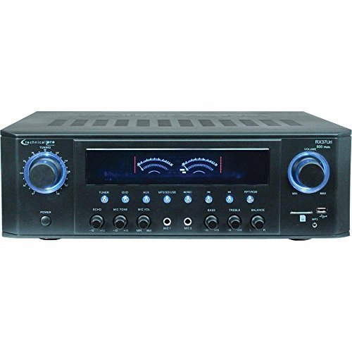 Technical Pro RX38UR Professional Receiver with USB  SD Card Inputs best to buy