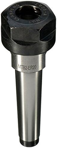 Queenwind ER20 MT2 M10 ドローバー CNC フライス鋼材料コレットチャックホルダー