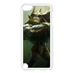 ipod 5 phone case White League of Legends Galio IUY2071861