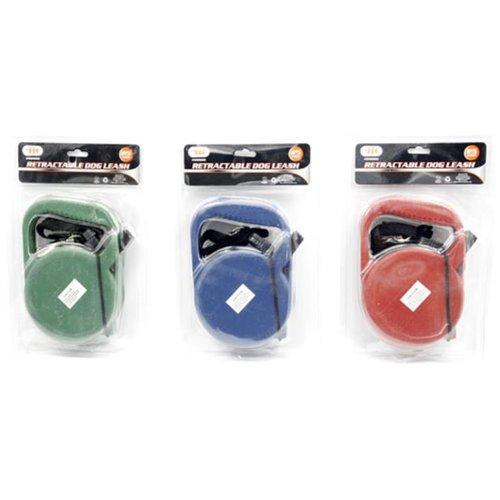 IIT 99900 Retractable Dog Leash - 25 Feet Various Colors (Leash Plastic Retractable)