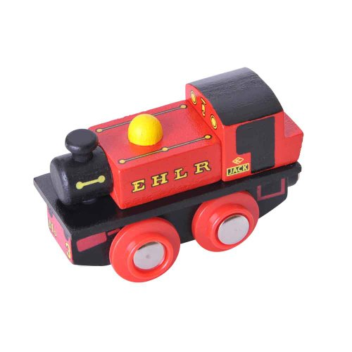 Bigjigs Rail BJT449 Heritage Collection EHLR Jack Thomas The Tank Engine Jack