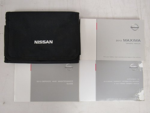 2013 Nissan Maxima Owners Manual book
