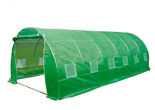 6m X 3m Polytunnel Greenhouse Strongest In Its Class A Fully Galvanised Structure With More Internal Bracing Than All Other Similar Tunnels