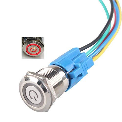 Ulincos Momentary Push Button Switch U16f1 1no1nc Black Manual Guide
