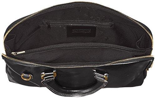 véritable Italie 100 Fabriqué cuir CTM femmes Noir 38x28x7cm sac travail de en de de serviette Nero COxwqavC