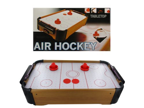 Bulk Buys OB640-3 20.5'' x 12.75'' x 4.5'' Air Hockey Game Tabletop - Pack of 3