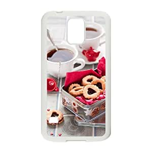 Afternoon Tea Personalized Cover Case with Hard Shell Protection for SamSung Galaxy S5 I9600 Case lxa#411643