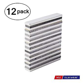 Powerful Neodymium Bar Magnets N52 Rare Earth Metal Neodymium