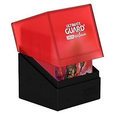 Ultimate Guard 2020 Exclusive - Boulder Deck Case 100+, Black/Red: Toys & Games