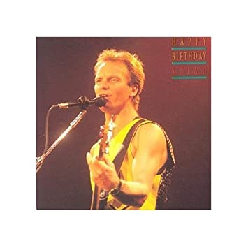 Happy Birthday Sting Sting Amazonde Musik