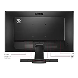 BenQ ZOWIE 24 inch Full HD Gaming Monitor - 1080p 1ms Response Time for Competitive eSports Gaming (RL2455)