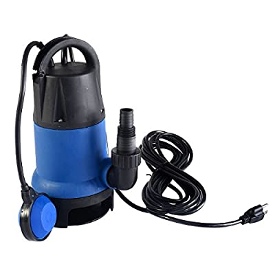 MasterPanel - 1/2HP 2000GPH Submersible Dirty Clean Water Pump Flooding Pond Swimming Pool #TP3300