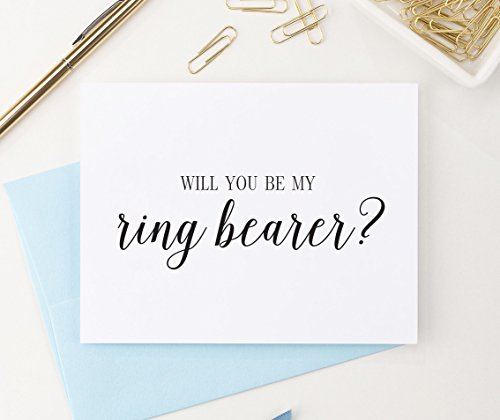 Will You Be My Ring Bearer Proposal Card