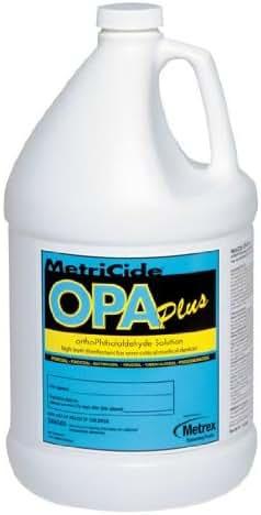 Metrex 10-6000 MetriCide OPA Plus Solution, 1 gal Capacity