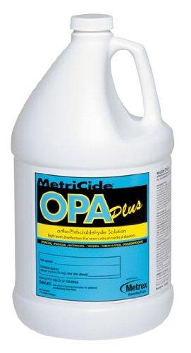 Metrex 10-6000 MetriCide OPA Plus Solution, 1 gal Capacity - 1497770