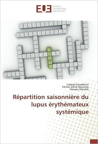 Amazon.fr - Repartition saisonniere du lupus erythemateux systemique ...