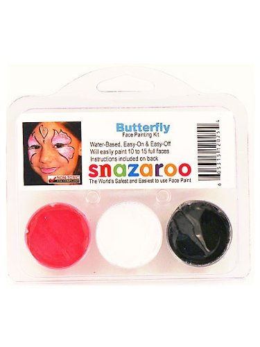 Snazaroo Butterfly Paint Kit (Butterfly Costume Face Paint)
