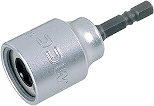 3/8' Threaded Rod Socket for Power Drill - MCC - Tighten/Loosen Threaded Steel Rod Without Damage