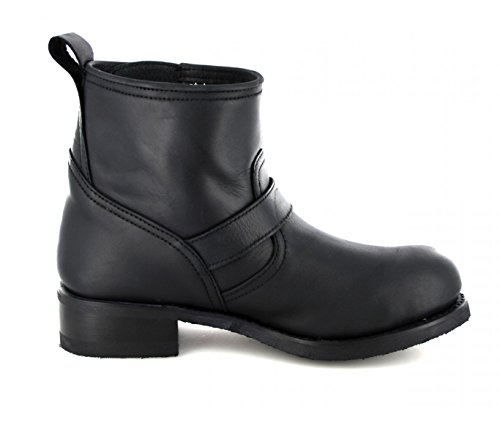 Negro Sendra Adult Biker Unisex 11973 Boots Black rFExqKHwrY