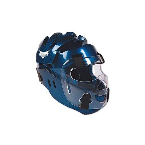 ProForce Thunder Full Headgear w/ Face Shield - Blue - X-Large