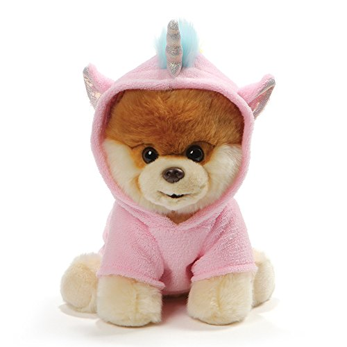 GUND World's Cutest Dog Boo Unicorn Outfit Stuffed Animal Plush, 9