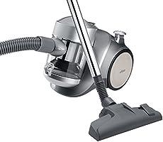 Ufesa AS2300 - Aspirador sin bolsa, 900 W, capacidad de 1,2 l, 83 dB, color gris [Clase de eficiencia energética B]