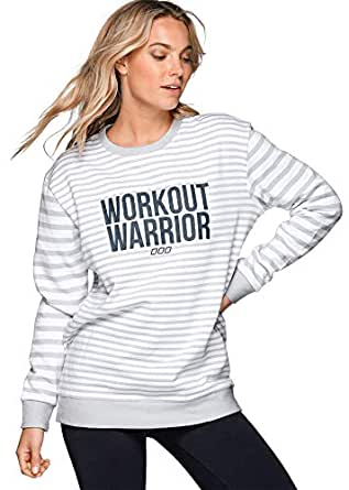 Lorna Jane Women's Warriors Sweat Shirt, Galaxy/White, XS