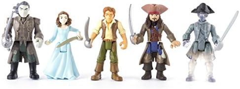 Piratas del Caribe 6037332 Figura (Pack de 5): Amazon.es: Juguetes y juegos