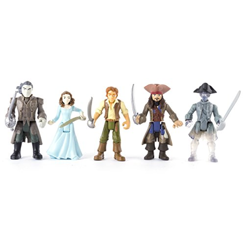Pirates Of The Caribbean  Dead Men Tell No Tales   Battle Figure 5 Pack