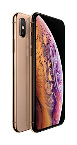 Apple iPhone XS, 64GB, Gold – Fully Unlocked (Renewed)