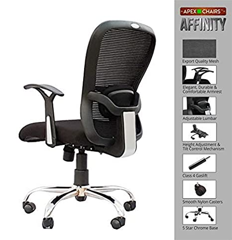 APEX AM-5028 AFFINITY MEDIUM BACK OFFICE CHAIR