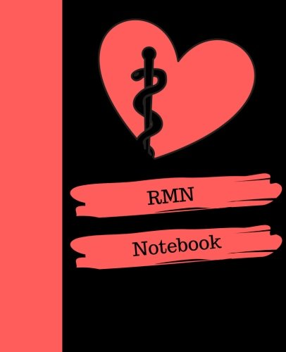 RMN Notebook: Registered Mental Nurse (United Kingdom) Notebook Gift | 120 Pages Ruled With Personalized Cover