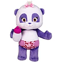 """Word Party - Lulu 10"""" Stuffed Plush Baby With Bottle - Snuggle and Play"""