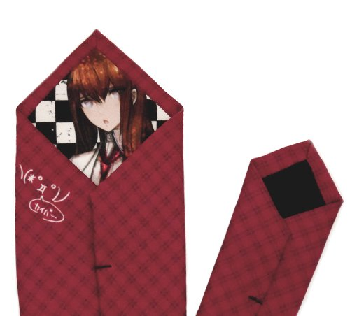 STEINS; GATE makise red Rio sumoto tie Stein Japan