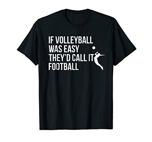 (Cute Funny Volleyball T-Shirt For Teen Girls and Women)