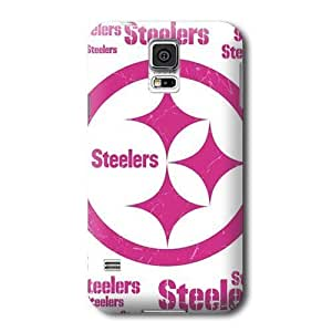 Allan Diy S5 case cover, NFL - Pittsburgh Steelers Pink Blast - Samsung Galaxy S5 case cover - E3CqwwNWhcD High Quality PC case cover